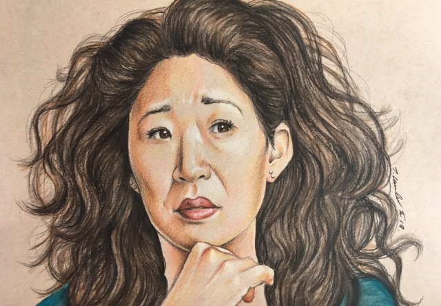 Sandra Oh by TraceyLawler